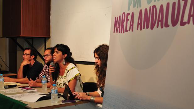 Teresa Rodríguez y su Marea andaluza llegan a Cádiz