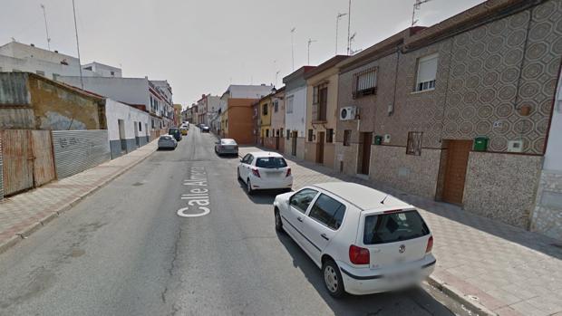 La pelea se produjo en la calle Almería de Alcalá de Guadaíra