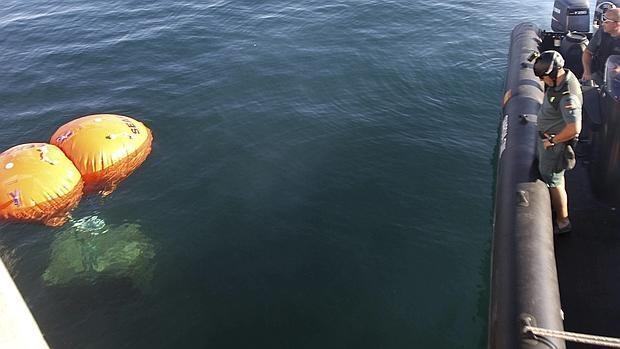 El pescador acusado por Gibraltar de sacar un bloque de hormigón del mar declara ante el juez