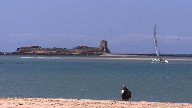Imagen de la playa de Sancti Petri