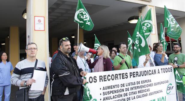 Delegados de CSIF reclaman más contratación de personal para el Hospital Puerta del Mar