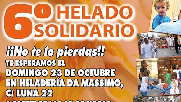 Este domingo regresa la iniciativa del 'Helado solidario'