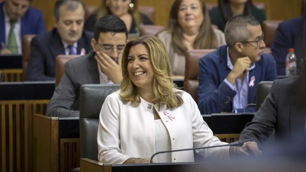 Susana Díaz anuncia una inversión para el tranvía