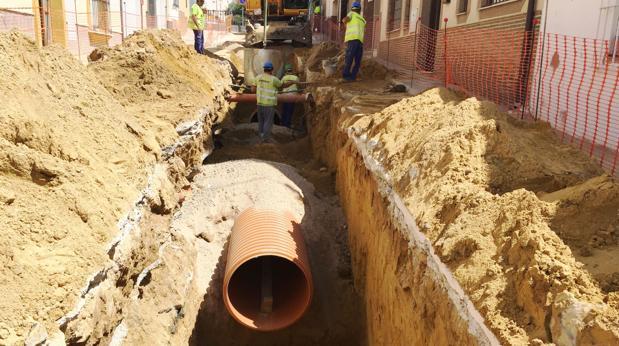 Casi dos millones de euros en obras del Ciclo Integral del Agua