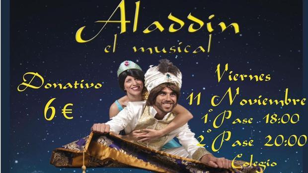 El musical de Aladdín llega al colegio San Felipe Neri