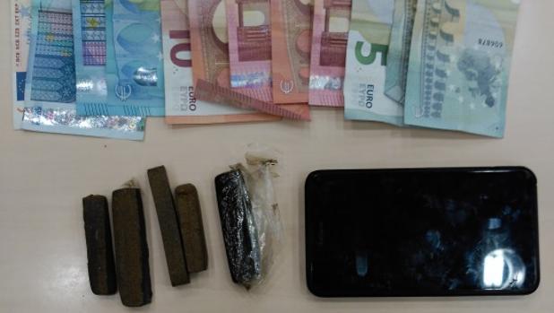Ingresa en prisión un detenido dedicado al menudeo de hachís en Cádiz