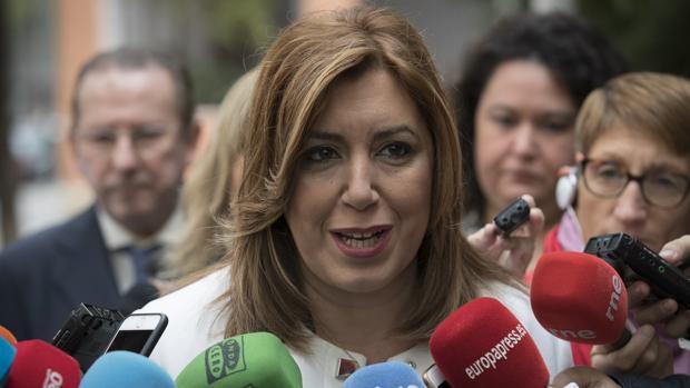 Susana Díaz: «vamos a reclamar a Trump lo mismo que le pedíamos a Obama»