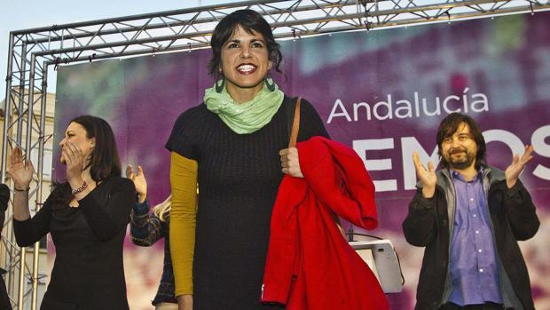 Teresa Rodríguez: «hay que articular una alternativa confiable al PSOE y al PP»