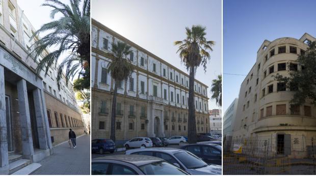 Los tres edificios que rehabilitará la UCA