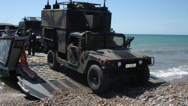 La Armada realiza maniobras a gran escala en la provincia