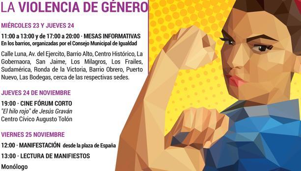 El Puerto llama a la movilización en la semana contra la Violencia de Género
