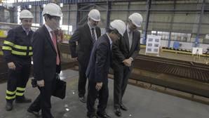 Navantia traslada por «operatividad» a Ferrol una sección del segundo petrolero