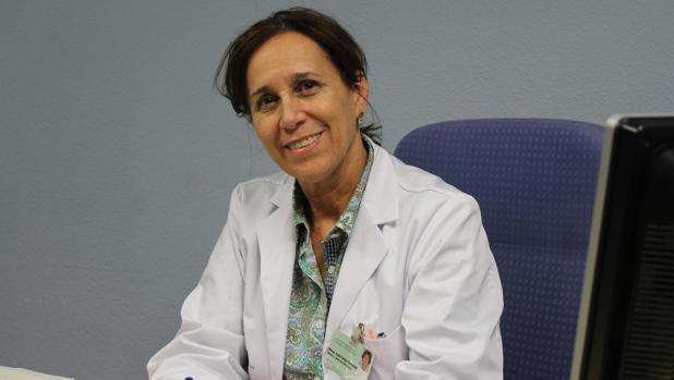 María José Ortiz dirige el área de Oncología Radioterápica del Virgen del Rocío
