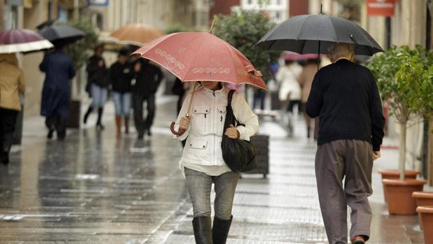 Lluvia y más frío para terminar la semana en Cádiz
