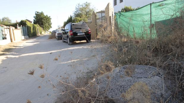 Situación actual de las calles donde se encuentran las parcelas de los afectados