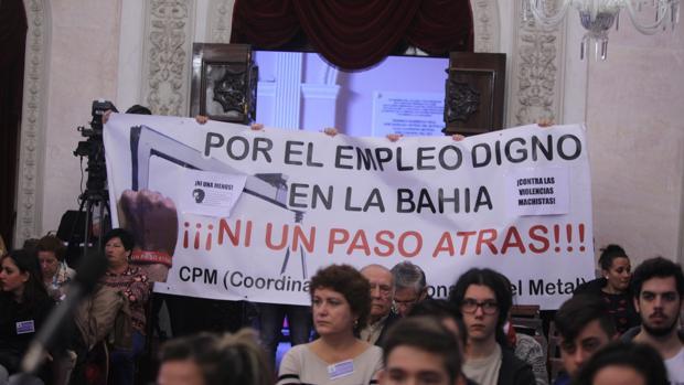 Vuelven las protestas ciudadanas al Pleno