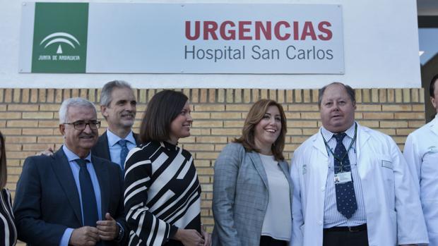 Aquilino Alonso destaca la mejora significativa en la atención sanitaria urgente en San Fernando