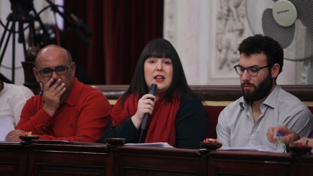 Laura Jiménez, edil de Turismo, toma la palabra