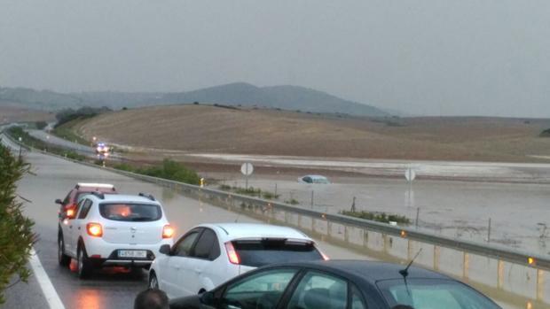 Vista desde la carretera de el Portal