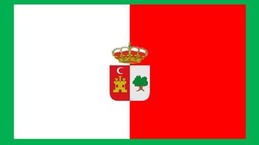 Segunda propuesta para la bandera del municipio