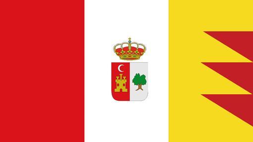 Tercera propuesta para la bandera de la Puebla de Cazalla
