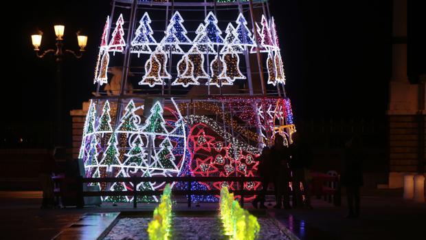 El nuevo alumbrado de Navidad se inaugurará la próxima semana.