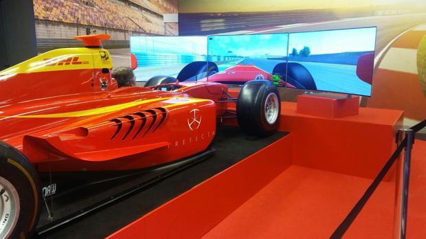 Disfruta de un coche de Fórmula 1 en El Corte Inglés