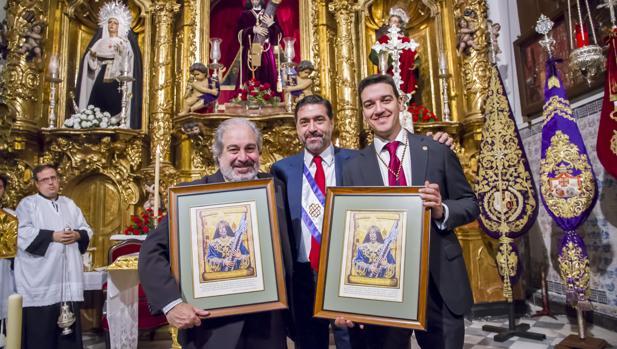 Función de los Hermanamientos 2016 entre las Cofradías del Nazareno, Ecce-Homo y Columna