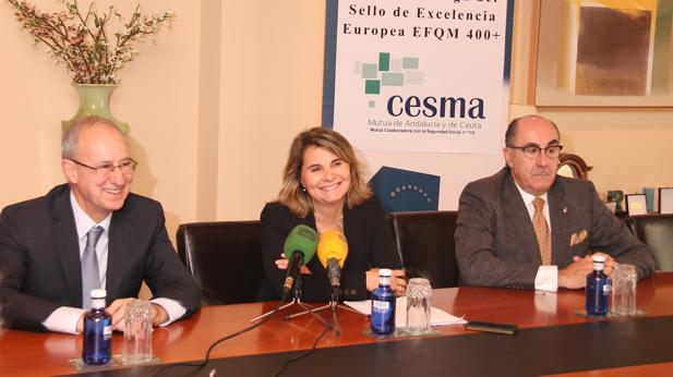 Mutua de Andalucía y de Ceuta, entre las empresas europeas líderes en Excelencia