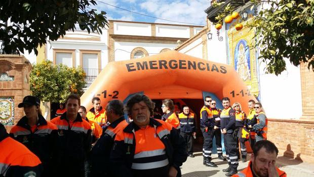 Voluntarios que nos protegen