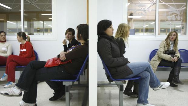Sala de espera de Urgencias de Puerto Real