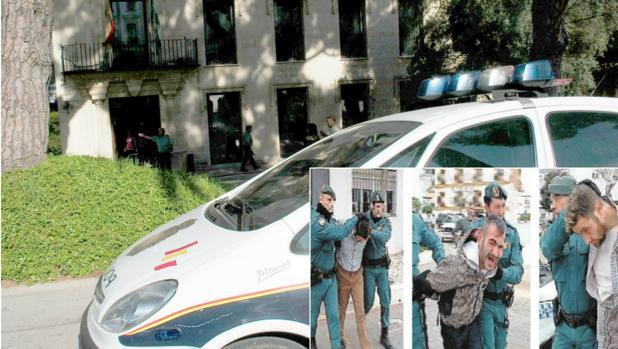 Uno de los hermanos Cachimba agrede a dos policías en los calabozos de la Audiencia