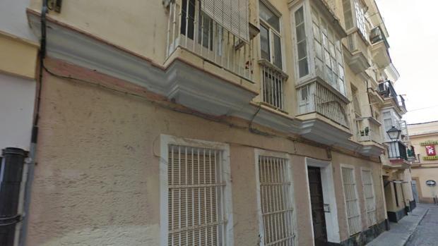 Número 3 de la calle Horozco de Cádiz