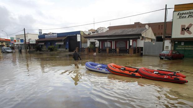 Sanz anuncia que el Gobierno destinará casi 1,5 millones a la reparación de daños del temporal