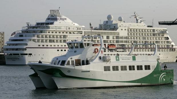 Suspendidos los catamaranes de Cádiz por condiciones meteorológicas adversas