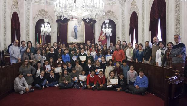 La propuesta del San Felipe Neri y la Institución, la más votada en el Pleno infantil