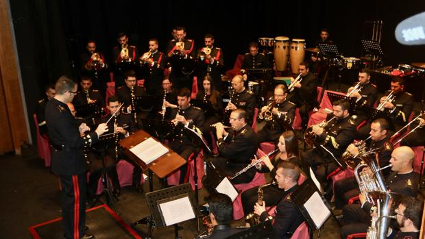 La Unidad de Música del Tercio del Sur ofrece un concierto en el Real Teatro de las Cortes