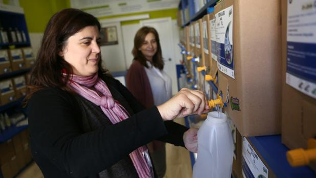 Una tienda verde en el corazón de Cádiz que vende prductos de higiene, belleza y limpieza totalmente ecológicos.