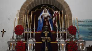 La Virgen de la Trinidad estará en la procesión mariana con motivo de su 50 aniversario