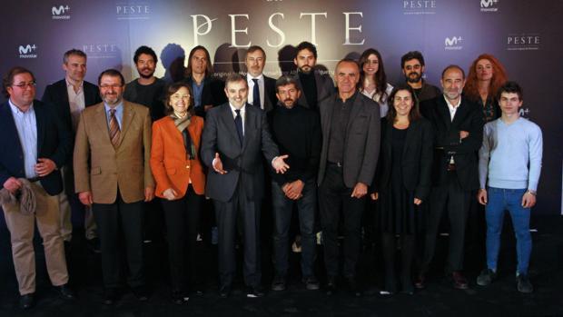 En enero se presentó en Sevilla el rodaje de «La peste»
