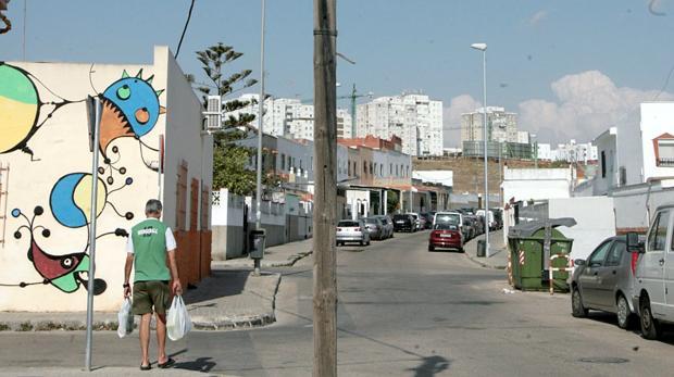 La jefa de la banda, ahora en prisión, vivía en la barriada Federico Mayo.