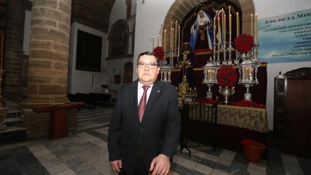Ismael Pampará: «Ni yo ni mi hermandad somos culpables del horario que le han impuesto al Perdón»