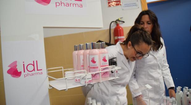 Alumnos del Instituto Isla de León crean una línea de cosméticos
