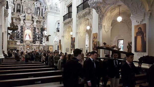 Vía Crucis de la juventud en Santo Domingo