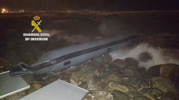 La Guardia Civil interviene casi dos toneladas de hachís en Algeciras