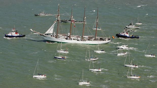 El Tricentenario provocará una pequeña gran regata el 21 de mayo en la Bahía