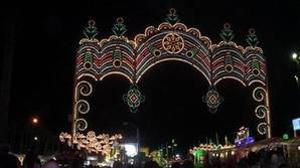 El encendido, es uno de los momentos más esperados de la Feria de La Línea