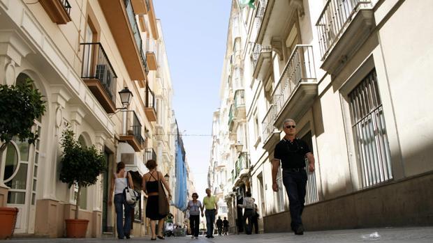 Apuñala a un perro cuando lo paseaban por una calle del centro de Cádiz