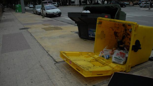 Las incidencias por el viento se multiplican en la provincia de Cádiz