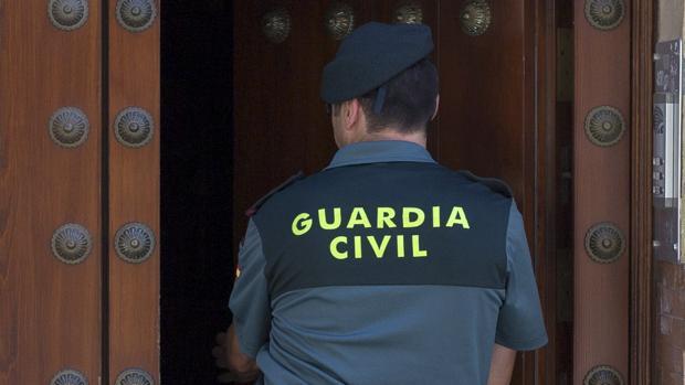Cuando llegó la Guardia Civil, el hombre ya se había marchado